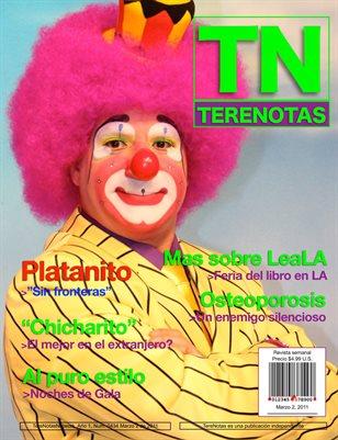 """Terenotas #44 """"Platanito, Sin Fronteras"""""""