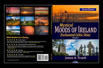 Cover - Enchanted Celtic Skies, Vol. I, Mystical Moods of Ireland (POSTER)