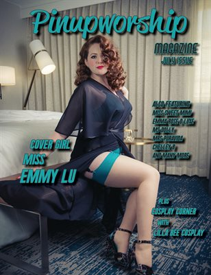 Pinupworship Magazine July Issue