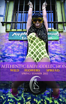 Authentic Lady Collections: Wild Flowers Spread Spring/ Summer '12