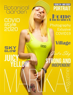 MARIKA MAGAZINE PORTRAIT (May - issue 34)
