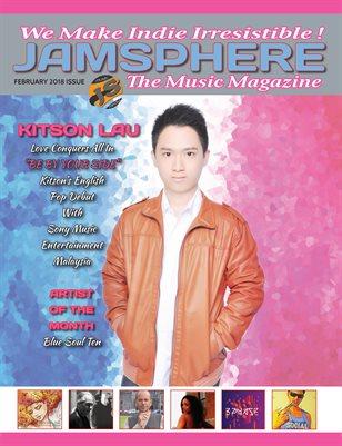 Jamsphere Indie Music Magazine February 2018