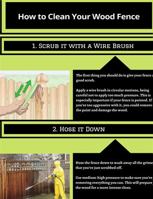How to Clean Your Wood Fence