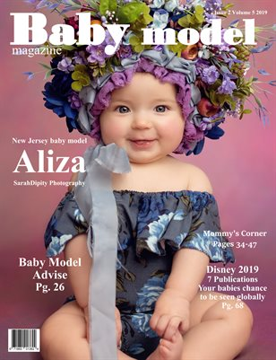 Baby Model magazine issue 2 Volume 5 2019