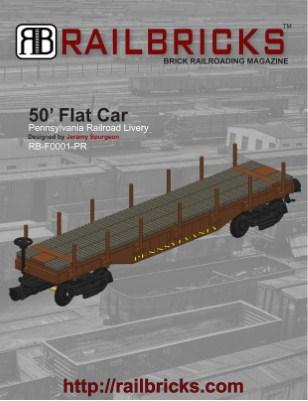 Flat Car PRR