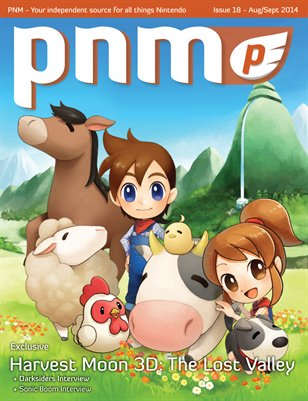 Pure Nintendo Magazine (PNM) Issue 18