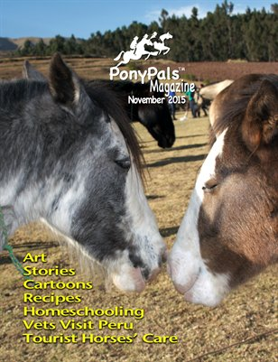 November 2015 Pony Pals Magazine -- Vol.5 #6