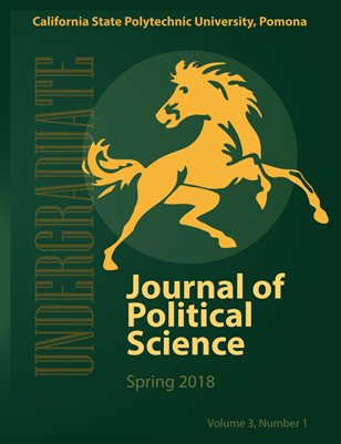 Undergraduate Journal of Political Science, Vol. 3 No.1