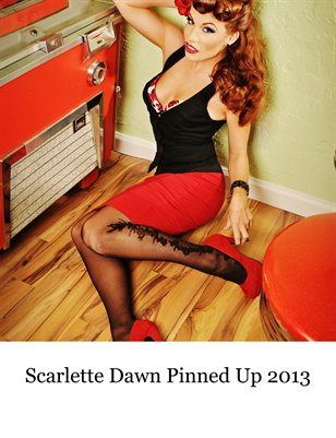 Scarlette Dawn Pin Up Calendar 2013