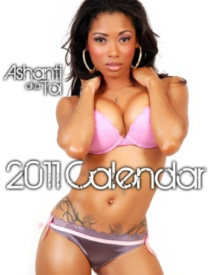 Ashanti's 2011 OMIGAWD Calendar