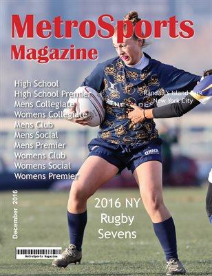 MetroSports Magazine NYR7s IC Cover