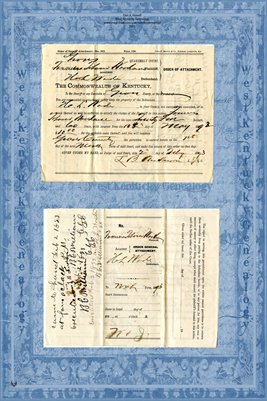 (PAGES 3-4) 1893 Farmers Tobacco Warehouse Vs. Wade, Graves County, Kentucky