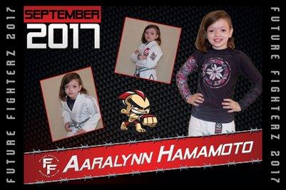 Aaralynn Hamamoto Cal Poster 2017