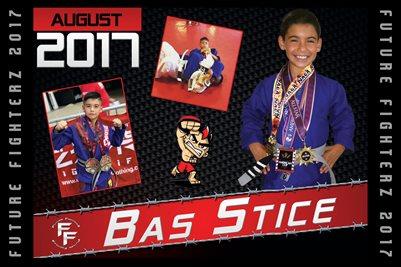 Bas Stice Cal Poster 2017