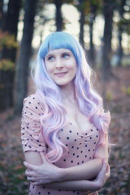 Purple Hair Cosplay
