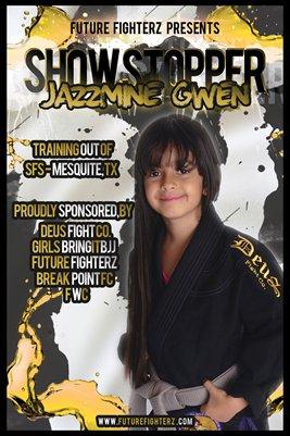 Jazzmine Gwen Yellow - Poster