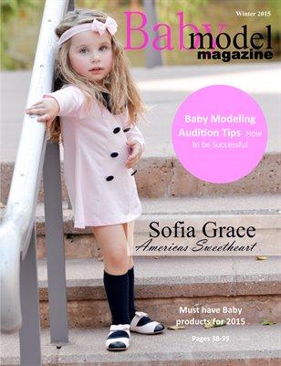 Baby Model Magazine Winter 2015