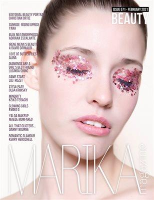 MARIKA MAGAZINE BEAUTY (ISSUE 571 - February)