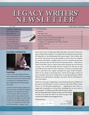 Legacy Writers' Newsletter 1:5