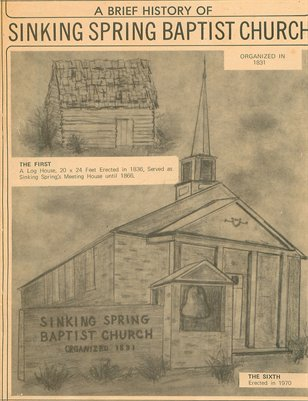 A Brief History of Sinking Spring Baptist Church