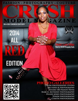 CRUSH MODEL MAGAZINE 2014 ALL RED EDITION