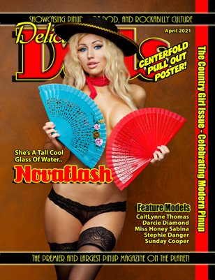Delicious Dolls April 2021 Country Girl Issue Novaflash