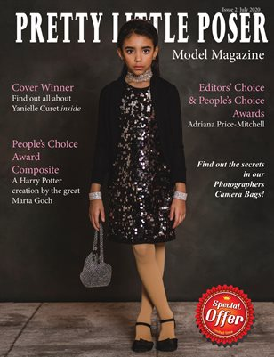 Pretty Little Poser Model Magazine July 2020 Issue