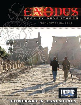 Exodus Reality Itinerary Mag