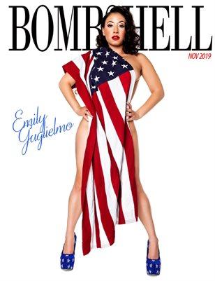 BOMBSHELL Magazine November 2019 BOOK 1 - Emily Guglielmo Cover