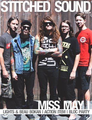 Stitched Sound Print Issue #4: Miss May I
