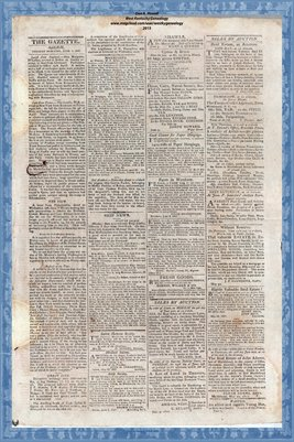 (PAGES 3-4) June 3, 1817, Salem Gazette, Salem Massachusetts