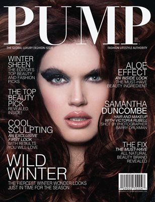 PUMP Magazine - The Global Luxury Fashion Edition