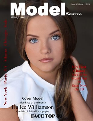 Model Source Magazine Issue 6 Volume 12 2020 FACE TOP 50