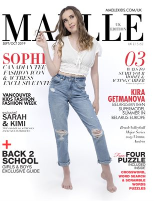 Maelle Kids Magazine UK Edition Sophia Lia
