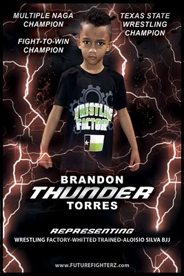 Brandon Torres Lightning Poster