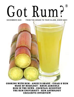 """""""Got Rum?"""" November 2020"""