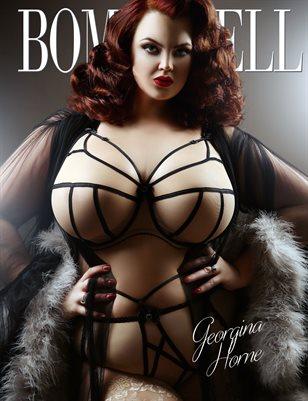 BOMBSHELL Magazine January 2018 - Georgina Horne Cover