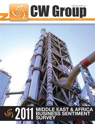 CemWeek 2011 Middle East & Africa Cement Business Sentiment Survey