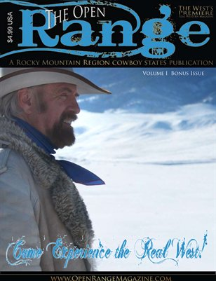 Open Range Magazine Volume 1
