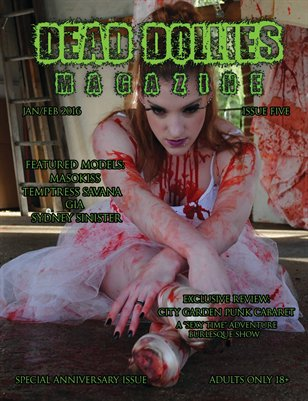 Dead Dollies Magazine Issue 5 Anniversary Edition