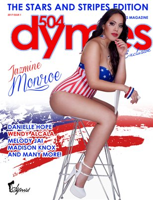 504Dymes Magazine Stars And Stripes Edition Vol. 1