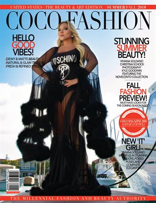 COCO Fashion Magazine - The Beauty & Art Edition Vol.2