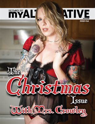 MyAlternative Magazine Issue 16 Christmas Theme December 2017