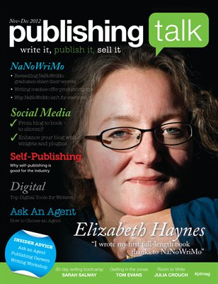 Publishing Talk Magazine #03 (Nov-Dec 2012) - NaNoWriMo