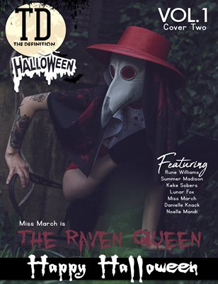 The Definition: Miss March Halloween 2020 Cover 2 Vol.1