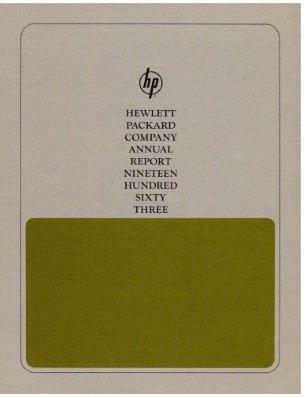 HP Annual Report 1963