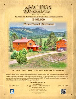 Pass Creek Hideout