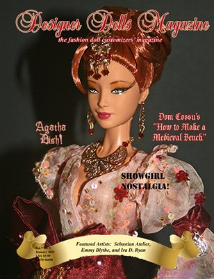 Designer Dolls Magazine - January 2015