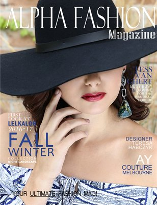 Fall/Winter Fashion-Cover#2