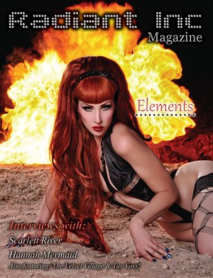 "Radiant Inc Magazine issue #4 ""Elements"""